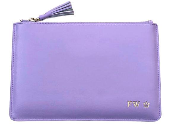 Violet signature pouch