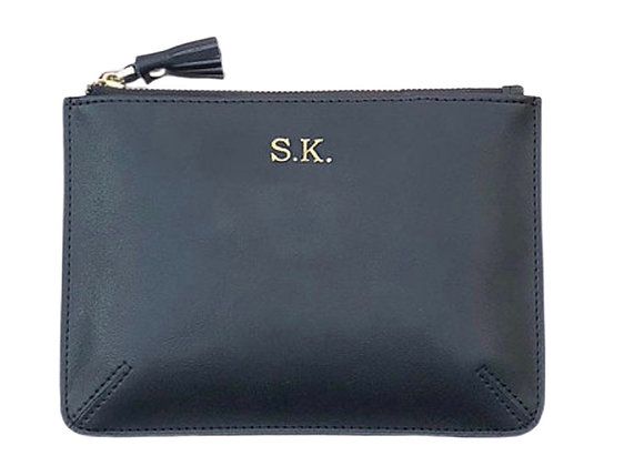 Black small pouch