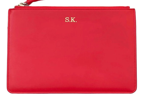 Red signature pouch