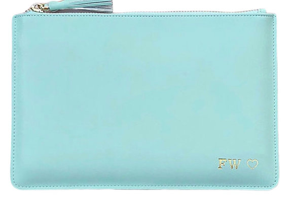 Mint Green signature pouch