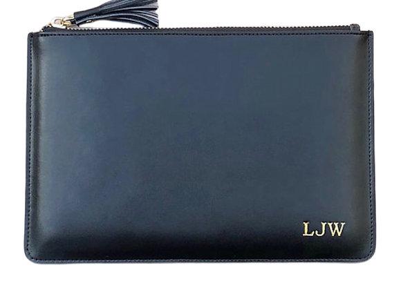 Black signature pouch