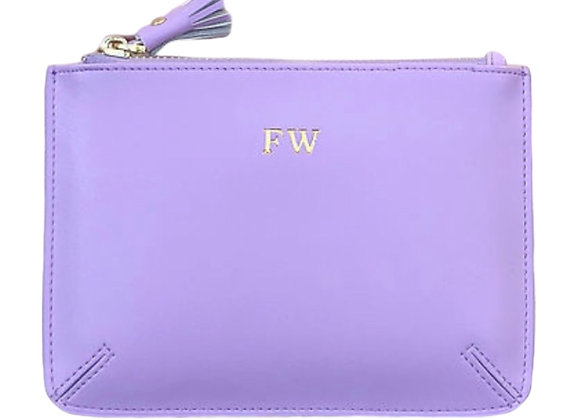 Violet small pouch