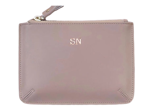 Taupe small pouch