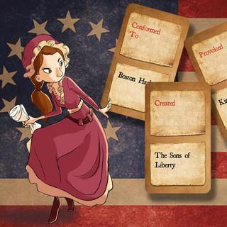 Chrono Scouts Card Game: American Revolution