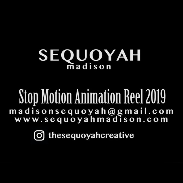 Stop Motion Animation Reel