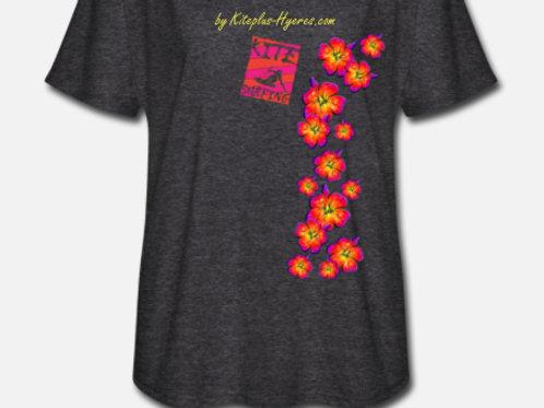 Kitesurf T-Shirt Kiteplus-Hyeres - femme  -