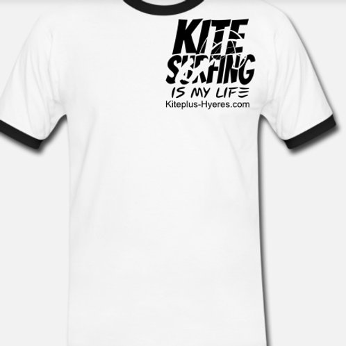 T-Shirt Kitesurfing is my Life - Homme-