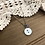Thumbnail: Little Button Charm Necklace with Amethyst