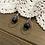 Thumbnail: Ring Earrings with Garnet
