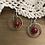 Thumbnail: Ring Earrings with Carnelian