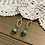 Thumbnail: Drop Earrings with Turquoise
