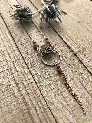 Victorian Button Necklace