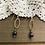 Thumbnail: Drop Earrings with Garnet