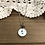 Thumbnail: Little Button Charm Necklace with Garnet