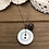 Thumbnail: Button Charm Necklace with Poppy Jasper