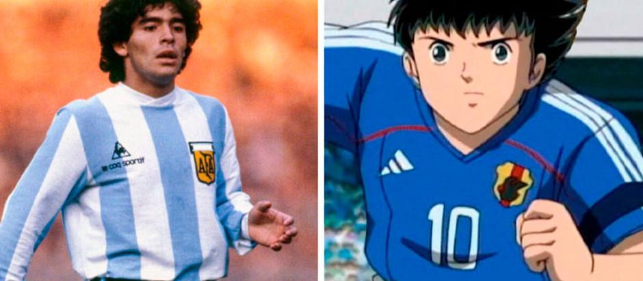Obvio: Oliver, de los Supercampeones, estuvo inspirado en Diego Maradona