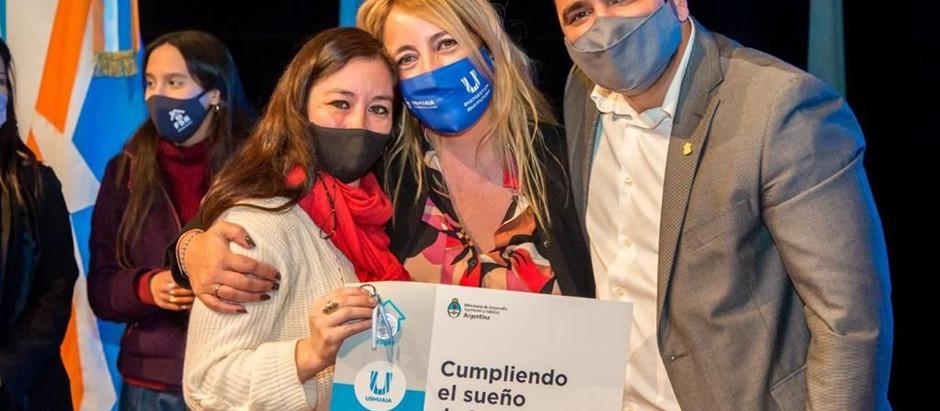 Ushuaia: Nación reconoció la gestión de hábitat del intendente Vuoto