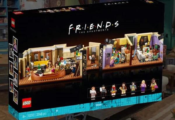 Lego lanzó una colección muy completa de FRIENDS. Mirá las imágenes!