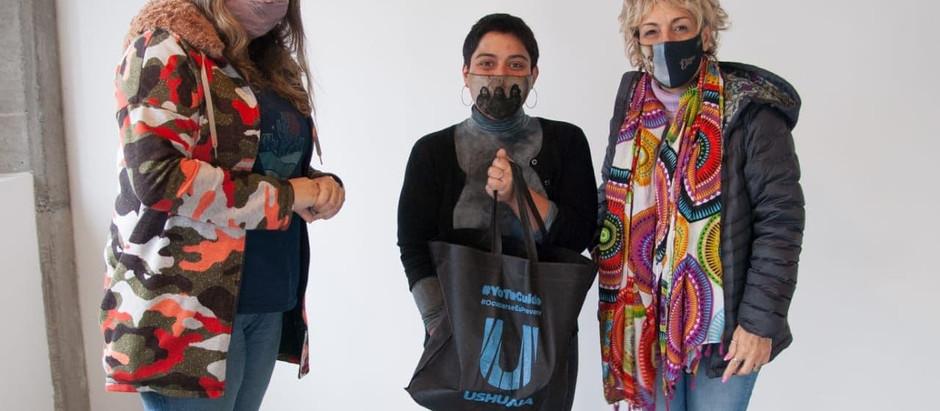 Ushuaia: la Secretaria de Cultura visitó el centro cultural 9410 Factory