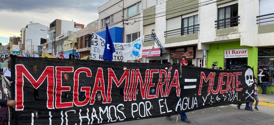 Chubut: Fuerte conflicto por la reapertura de la megaminería