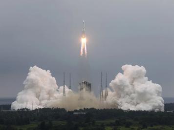 Un cohete está fuera de control y sus restos podrían impactar contra la Tierra