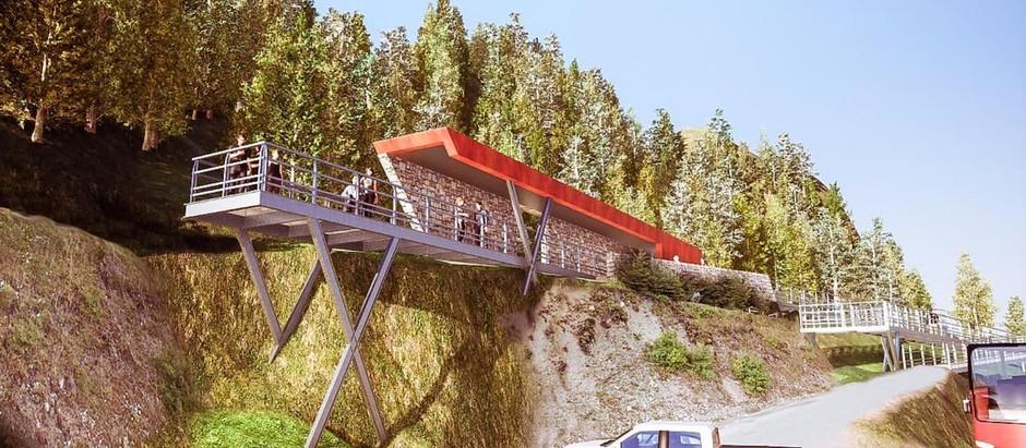 """INFUETUR avanza con la obra """"Miradores Valles Fueguinos"""""""