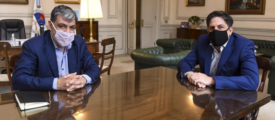 El Senador Rodríguez avanza en agenda educativa con Nicolás Trotta