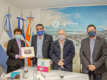 La Municipalidad de Ushuaia recibió a la Embajadora de Israel en Argentina