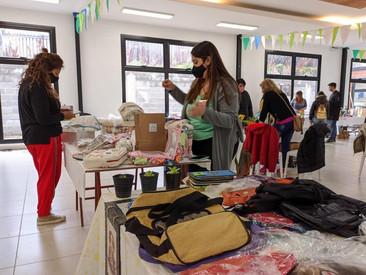 Se realizó una nueva expo-feria de la economía social en Ushuaia