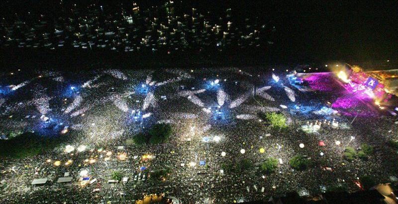 Publicarán el histórico show de The Rolling Stones en Copacabana