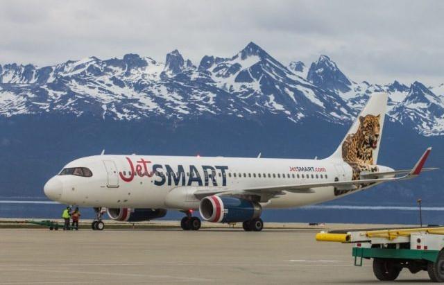 JetSMART aumentará su frecuencia de vuelos a Ushuaia
