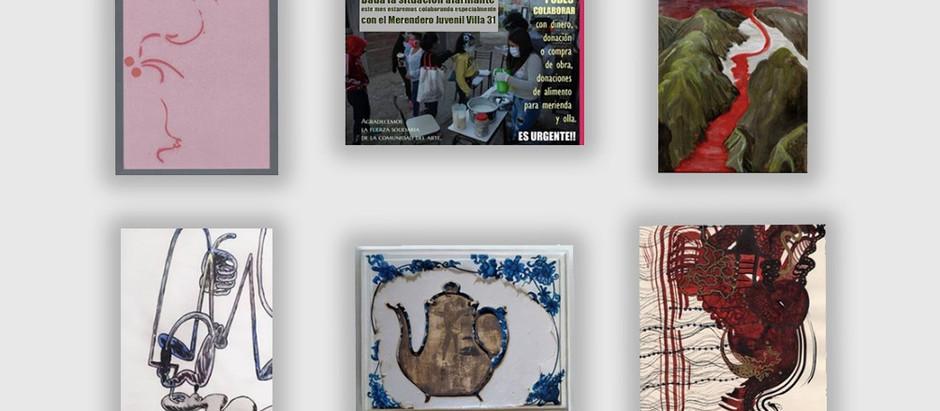 Coleccionables de emergencia: una propuesta solidaria desde el arte