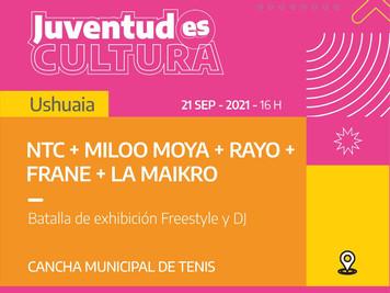 Este martes se lleva adelante la jornada JuventudEs Cultura