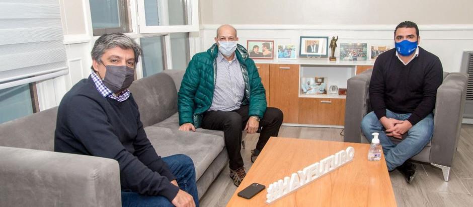 El nuevo delegado de ANMAC mantuvo una reunión con el intendente Vuoto