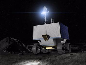 Un robot de la NASA usará faros para buscar agua en cráteres lunares