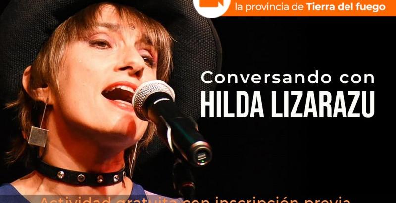 Hilda Lizarazu dará una charla virtual para Tierra del Fuego