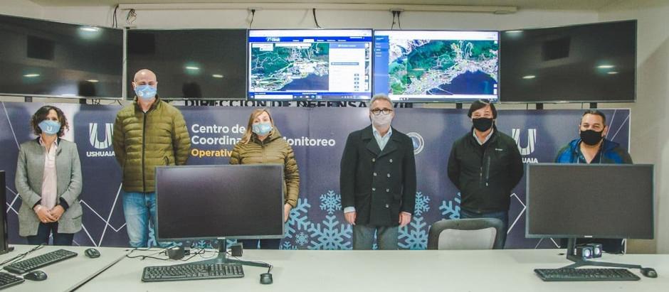 Ushuaia: ultiman detalles para el Operativo Invierno 2021