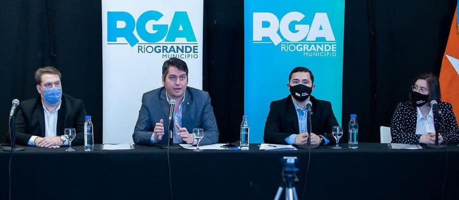 """Perez presentó el proyecto """"Río Grande ciudad tecnológica y del conocimiento"""""""