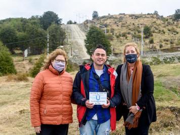 La Municipalidad de Ushuaia entregó 33 lotes de la urbanización San Martín