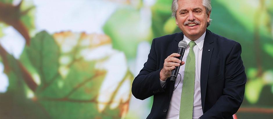 Alberto promulgó la Ley de Educación Ambiental Integral