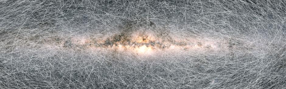 Un mapa con los futuros movimientos de mil millones de estrellas