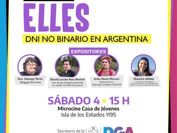 """Río Grande invita al encuentro """"Elles: DNI no Binario en Argentina"""""""