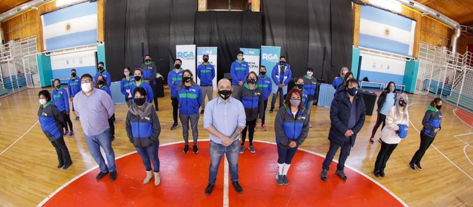 RGA: Personal de deportes, cultura y juventud mejora su equipamiento