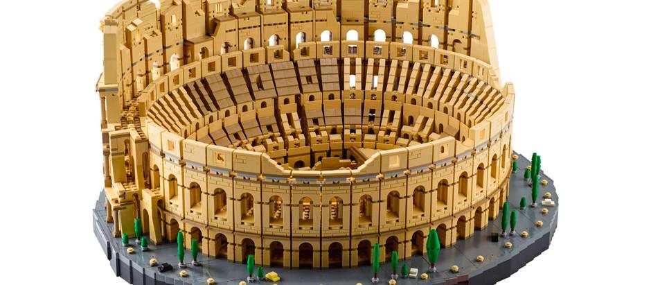 Lego anunció el lanzamiento de un Coliseo Romano de 9 mil piezas