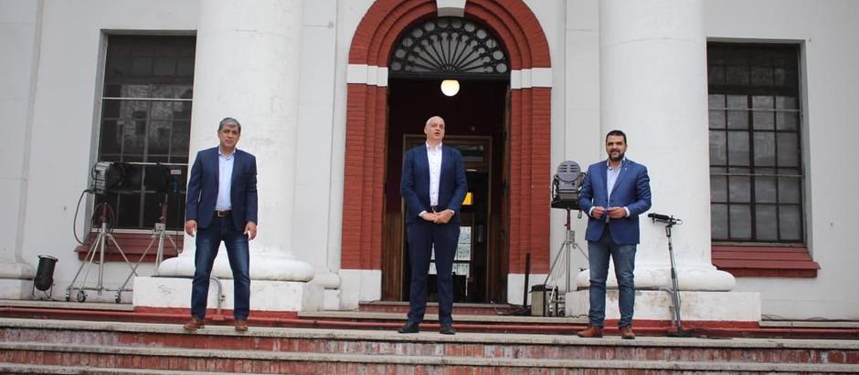 Vuoto y Rodríguez visitaron la ex ESMA a 45 años del último golpe cívico-militar