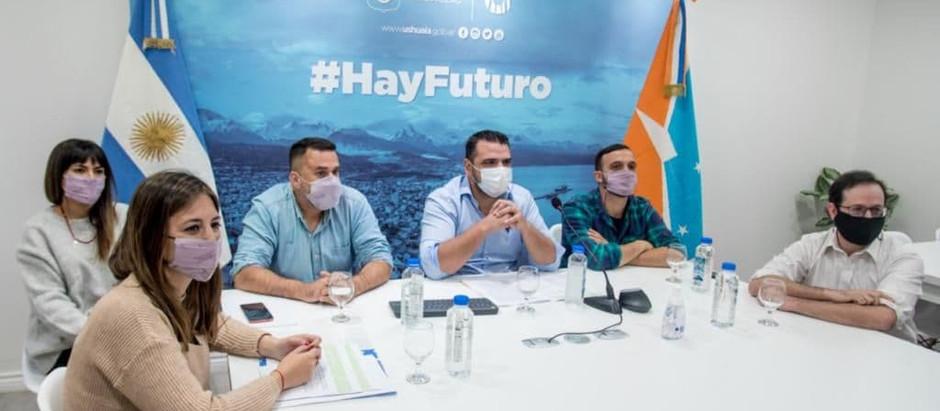Nación lanzó el programa Potenciar Empleo Verde desde la Municipalidad de Ushuaia
