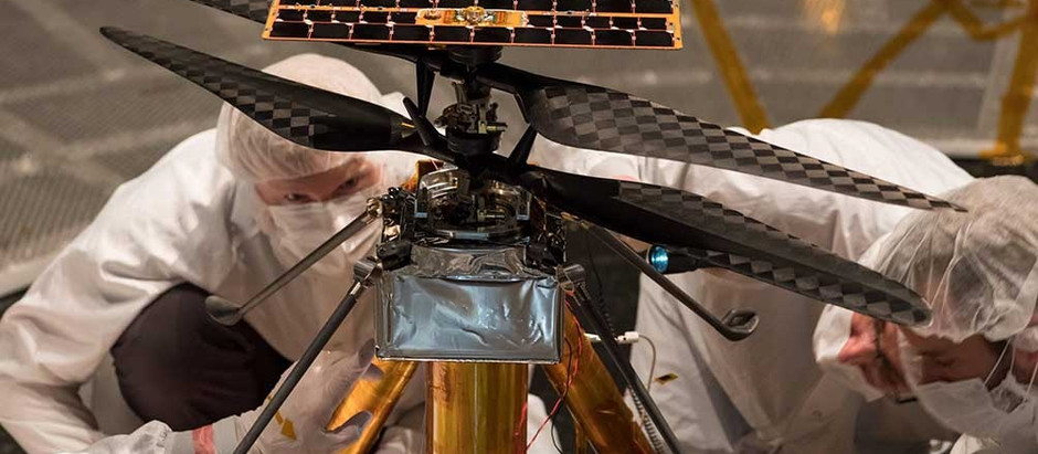 La NASA intentará concretar el primer vuelo de un helicóptero en Marte