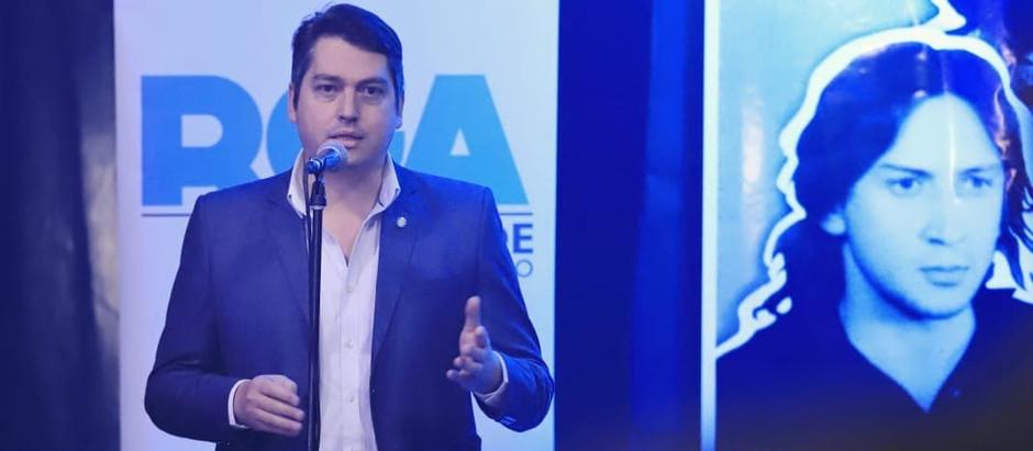 Río Grande: Perez anunció la puesta en valor de la Casa Municipal en la ciudad de La Plata