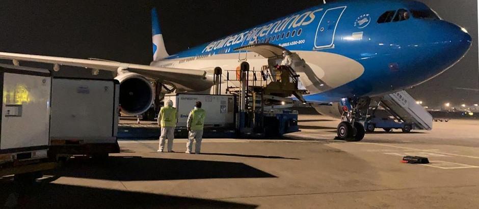 Programan 10 vuelos para buscar 8 millones de dosis de Sinopharm en julio