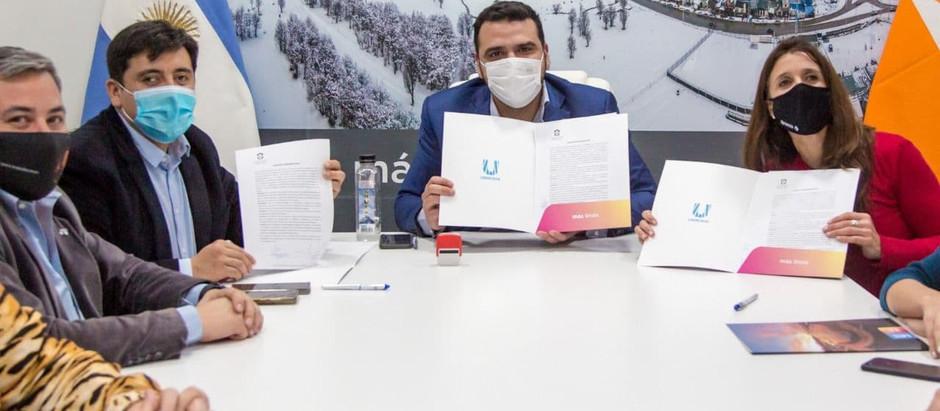Los municipios de Ushuaia y Tolhuin implementarán el programa Potenciar Deporte